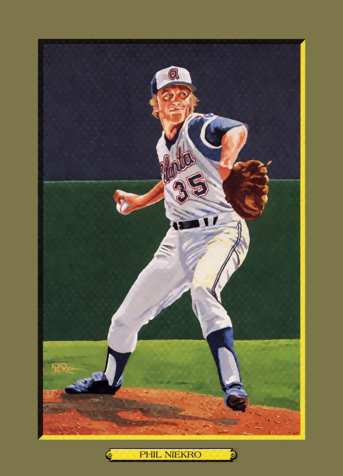 CARD 105 – PHIL NIEKRO