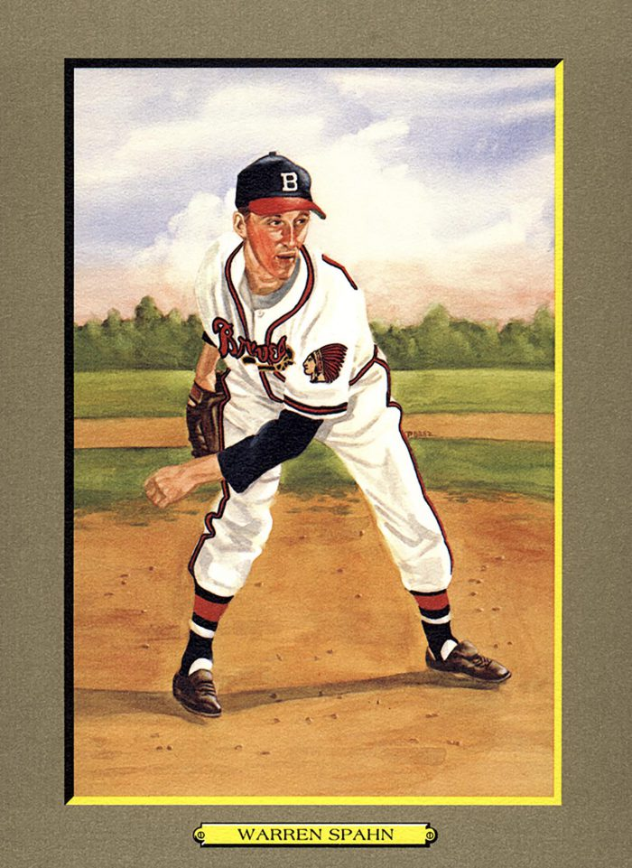 Card 14- Warren Spahn