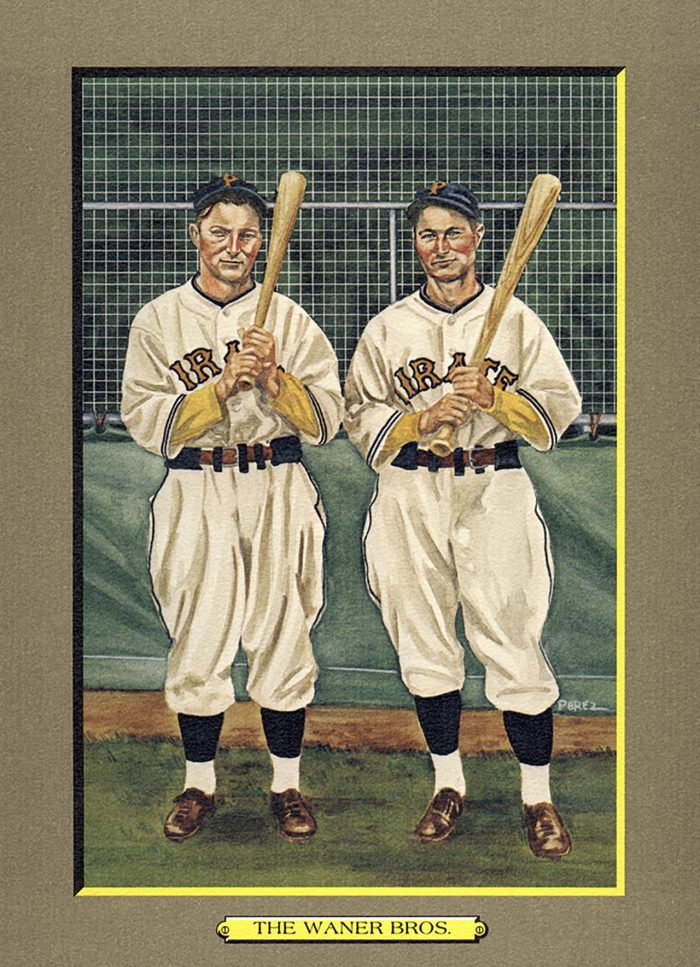 Card 15- The Waner Brothers