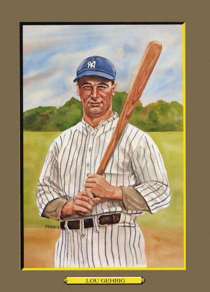 Card 4- Lou Gehrig