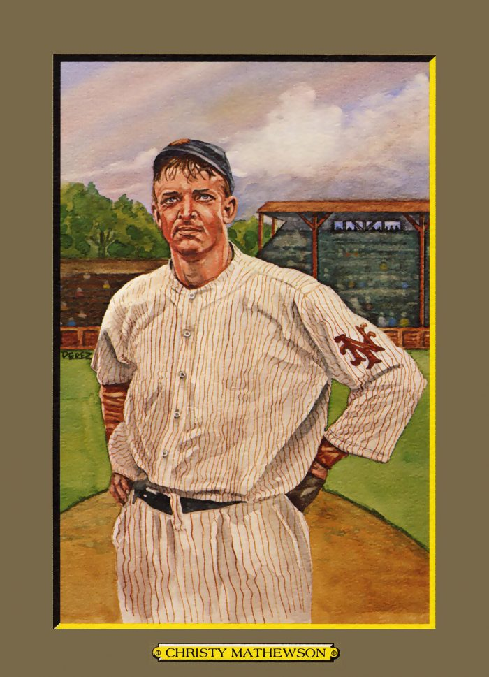 Card 6- Christy Mathewson