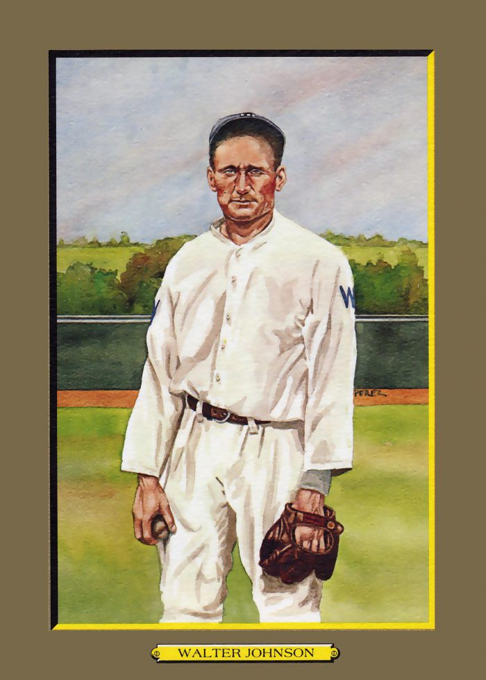 Card 8- Walter Johnson