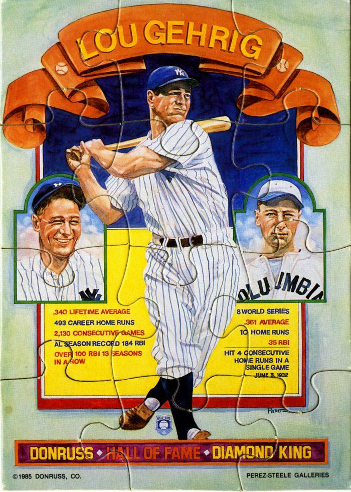 Lou Gehrig, 1985