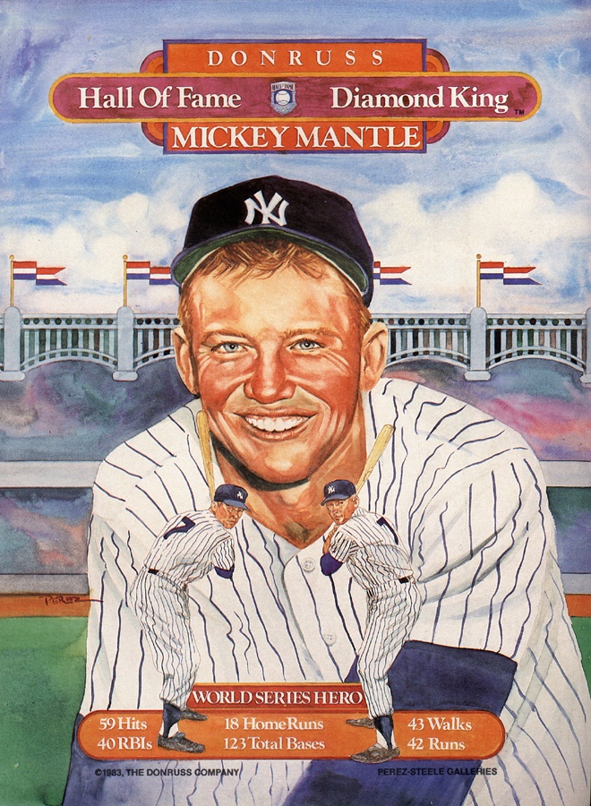 Mickey Mantle, 1983