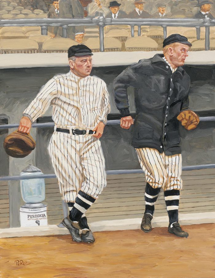 John McGraw & Mathewson
