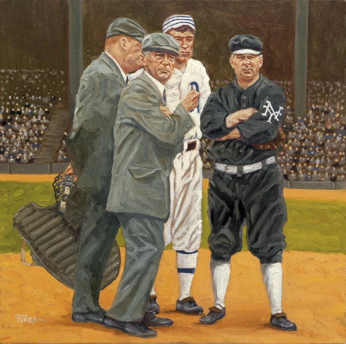 John McGraw & Ump, Tom Connolly