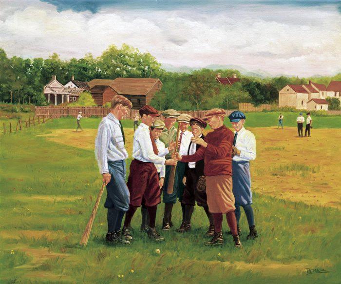 Schoolboys at Play