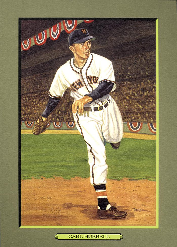 CARD 35 – CARL HUBBELL
