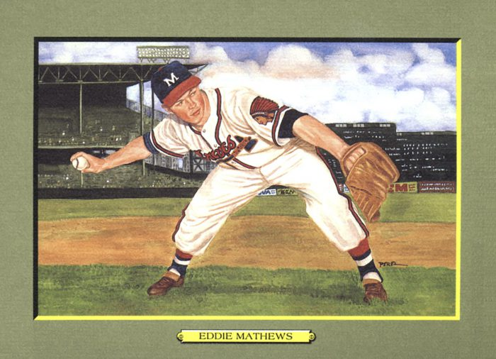 CARD 28 – EDDIE MATHEWS