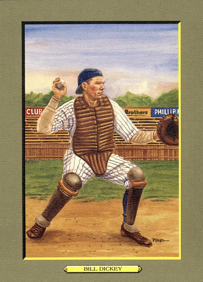 CARD 37 – BILL DICKEY