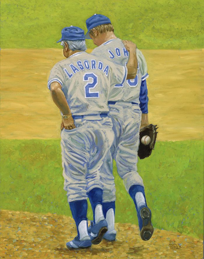 Tommy Lasorda & Tommy John