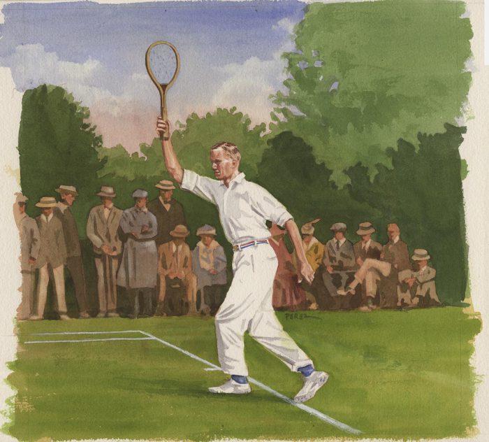 Tennis Watercolor