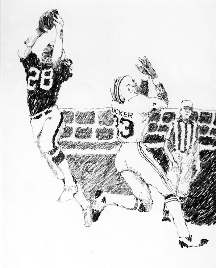 Eagles Interception, Bill Bradley