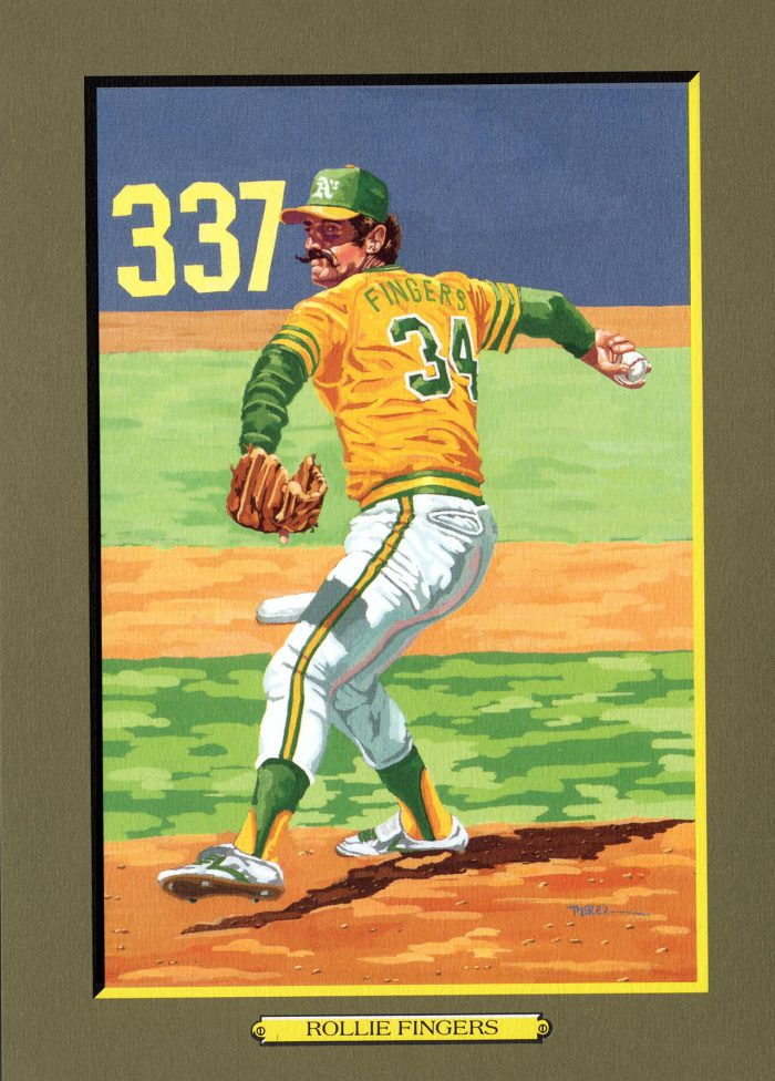 CARD 74  – ROLLIE FINGERS