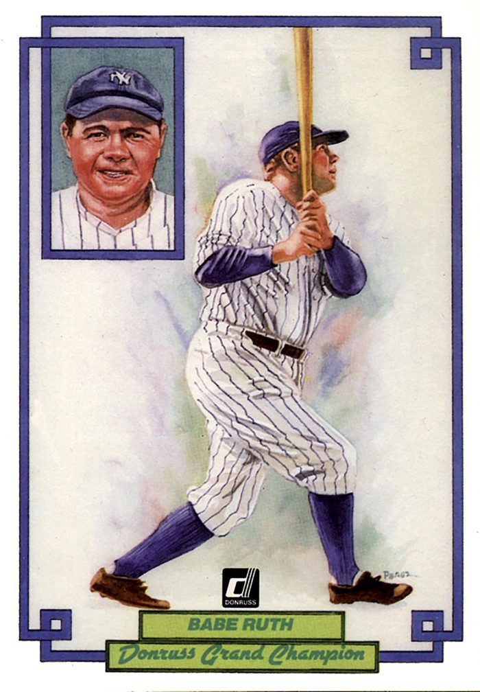 Babe Ruth, card 1