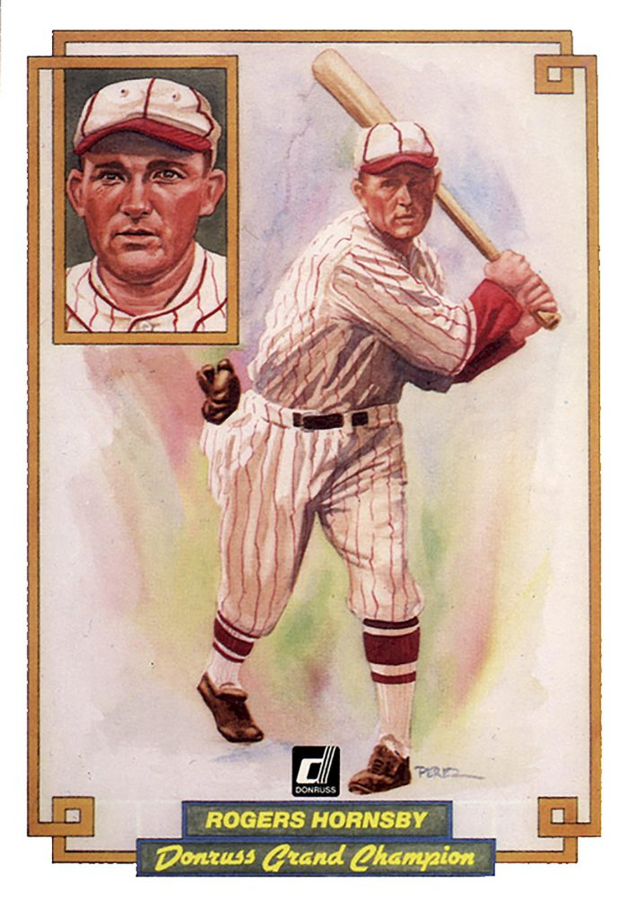 Rogers Hornsby, card 20