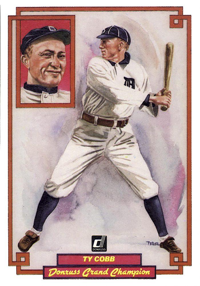 Ty Cobb, card 26