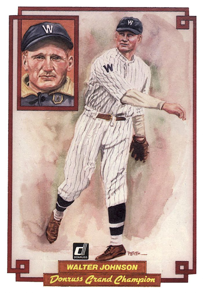 Walter Johnson, card 37
