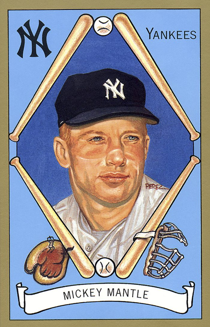 Mickey Mantle, 1911 T205 Gold Border