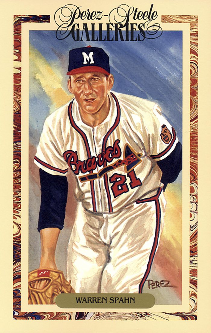 Warren Spahn, Perez Steele Galleries