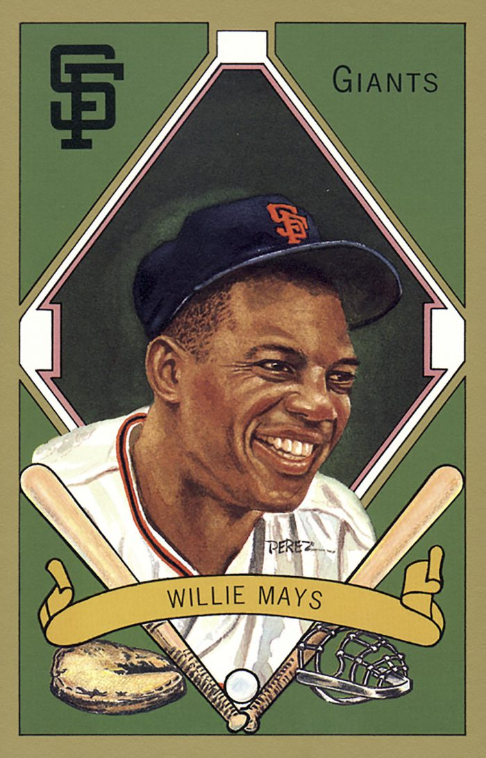 Willie Mays, 1911 T205 Gold Border