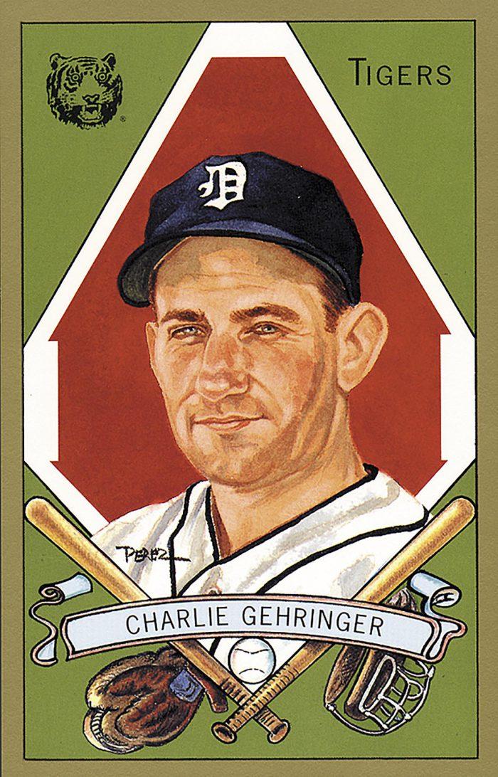 Charlie Gehringer, 1911 T205 Gold Border