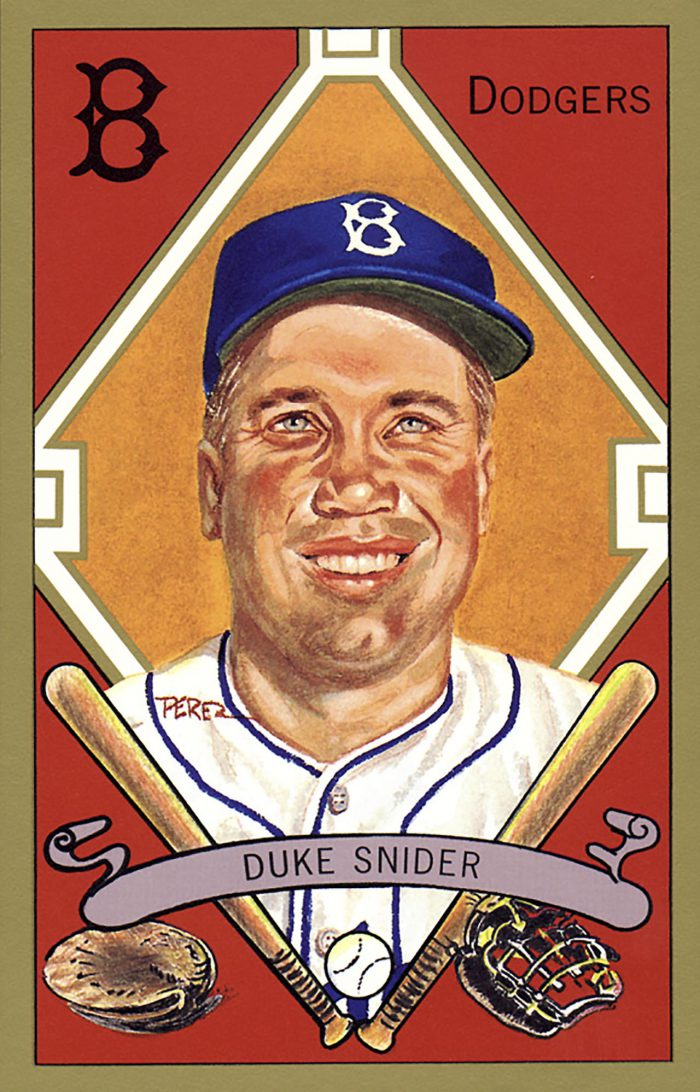 Duke Snider, 1911 T205 Gold Border