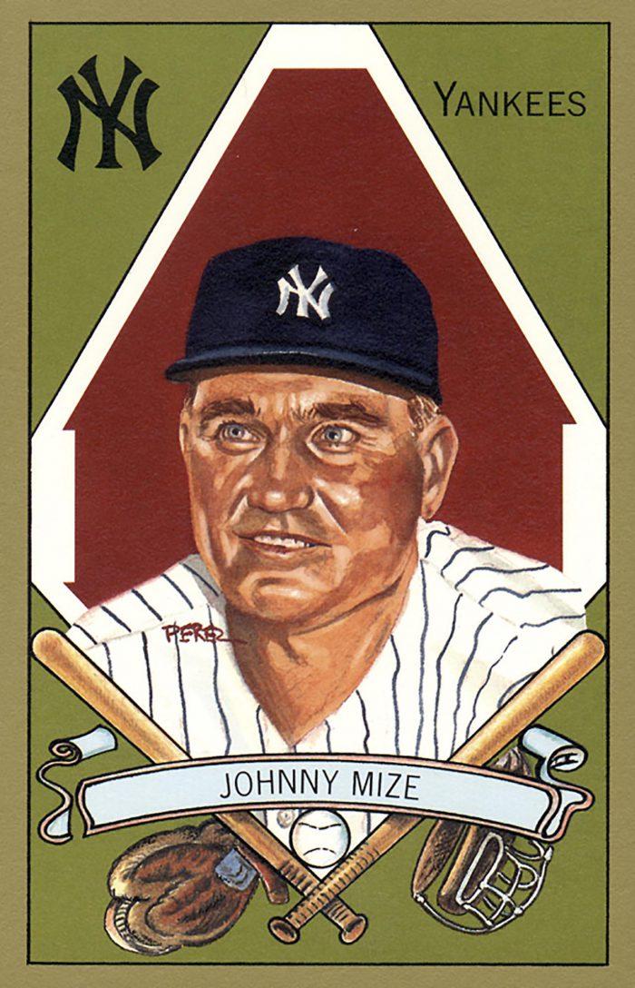 Johnny Mize, 1911 T205 Gold Border