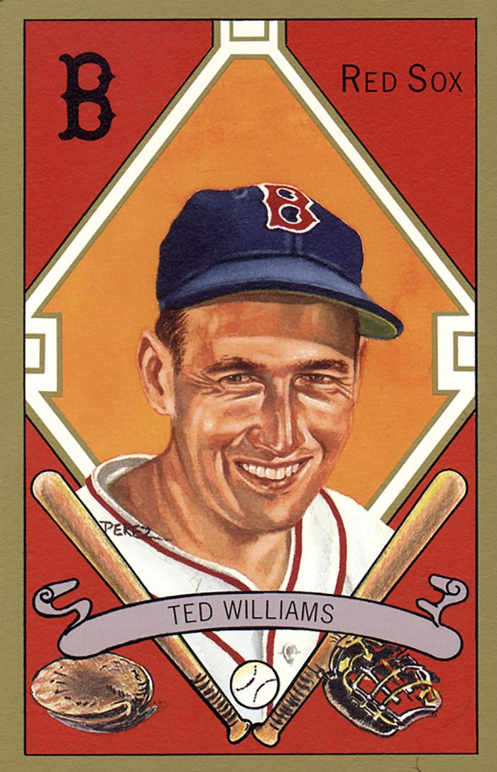 Ted Williams, 1911 T205 Gold Border