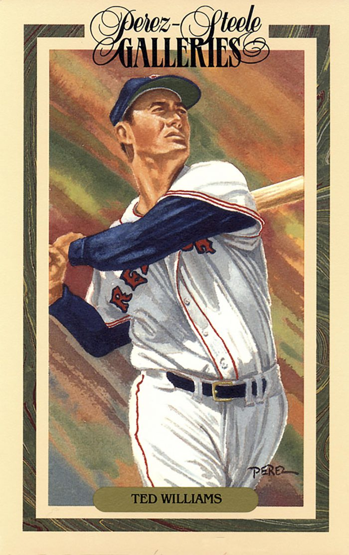 Ted Williams, Perez Steele Galleries