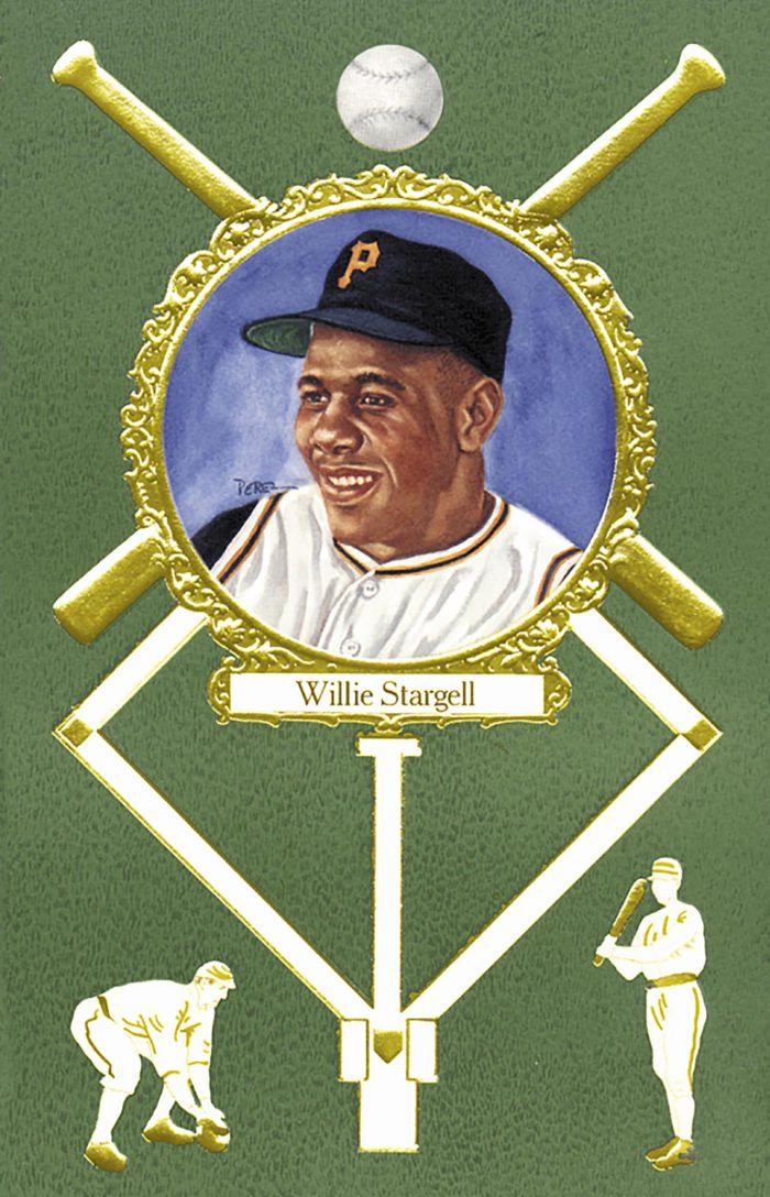 Willie Stargell, 1908 Rose Postcard
