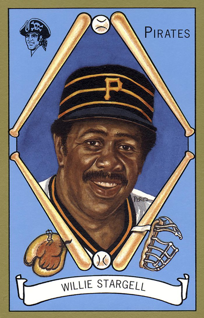 Willie Stargell, 1911 T205 Gold Borders