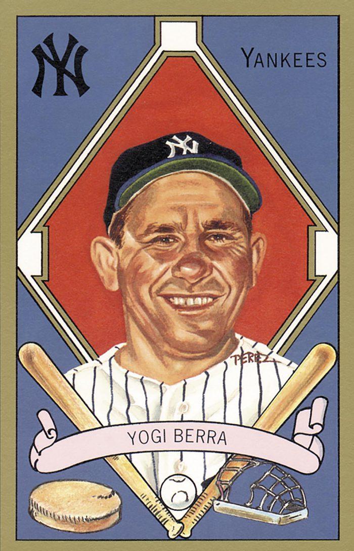 Yogi Berra, 1911 T205 Gold Border