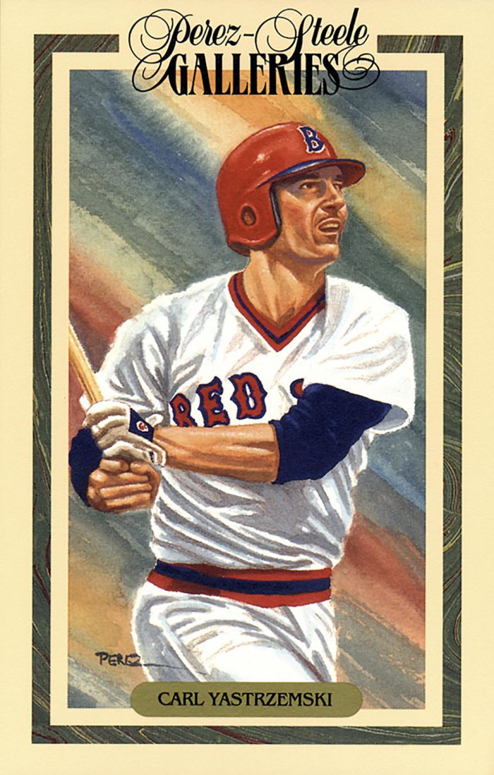 Carl Yastrzemski, Perez Steele Galleries