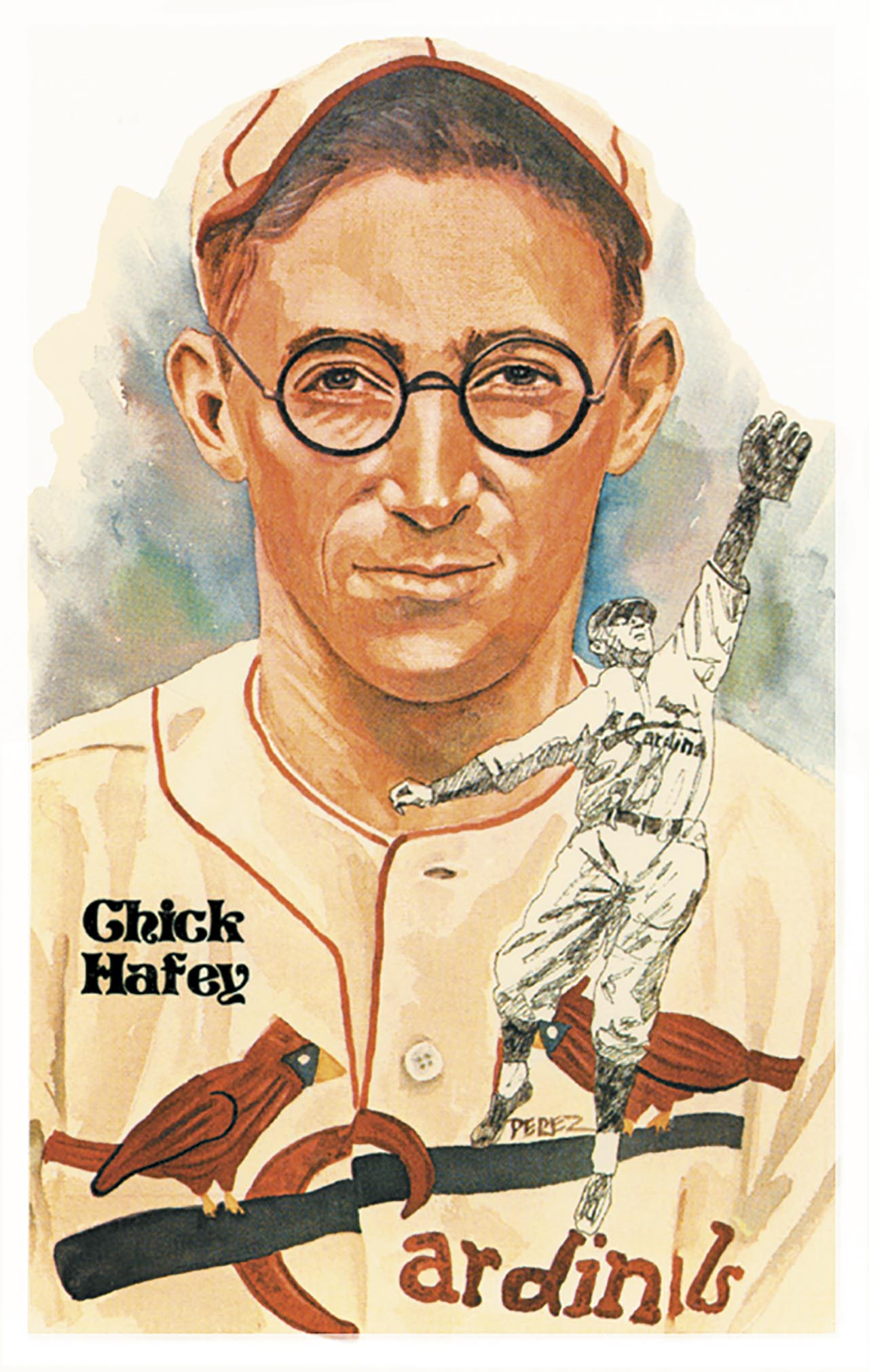Joe For Oil >> Hall of Fame Art Post Cards Series 5 : Dick Perez