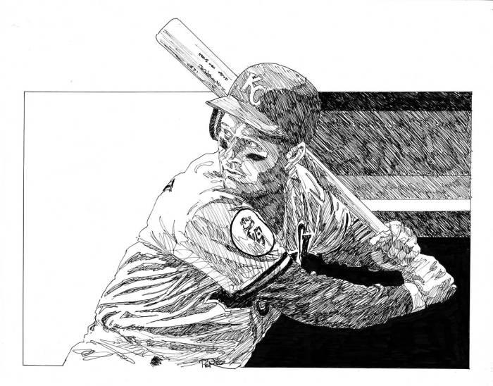 Baseball in Black & White